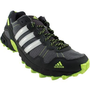2256e4d8b1af6 Adidas Rockadia Trail M Trail Running Shoes - Mens Grey White Neon