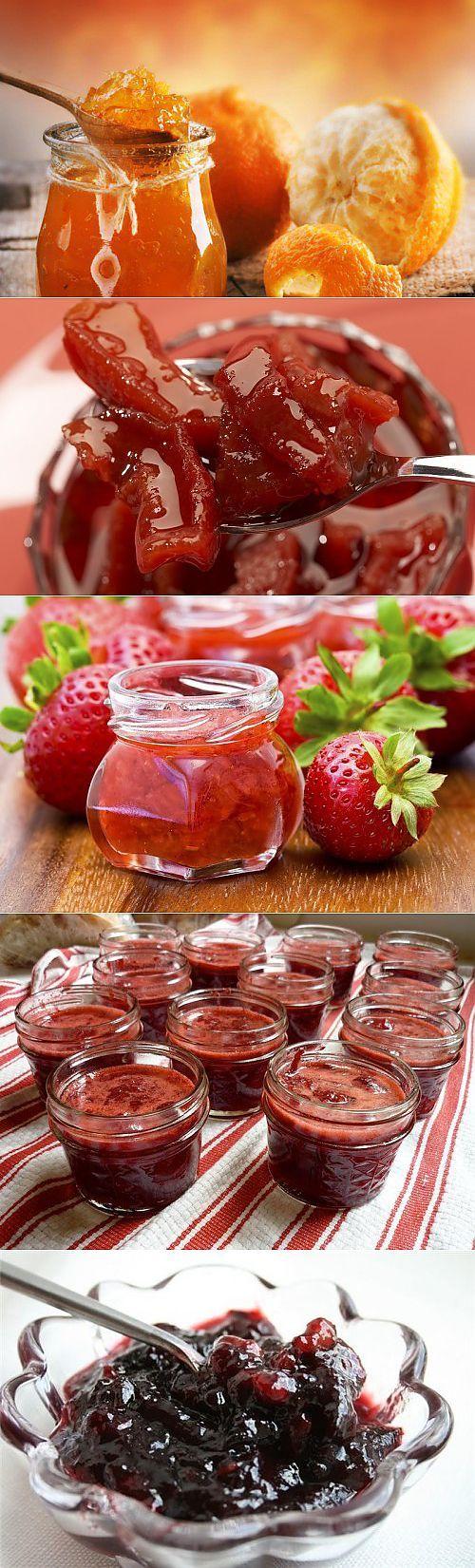 Фруктовые и ягодные джемы: 7 самых вкусных