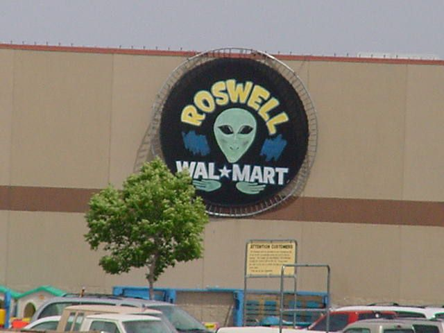 Roswell New Mexico - Wal Mart.  Yep, been here!