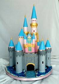 Delectable Cakes: Disneyland Castle Cake