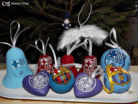 Karácsonyfa díszek akril