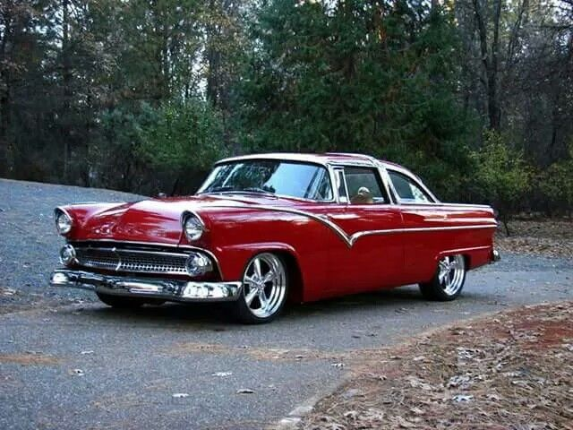 225 best 50's Ford Cars images on Pinterest   Old cars ...