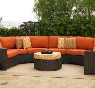 Malibu Half Circle Outdoor Sectional Set By Southern Living. 3 Things To  Know Before Buying Patio Furniture