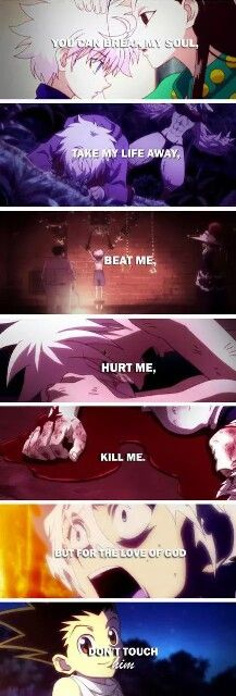 Hunter x Hunter ~ This is beautiful!  TT---TT