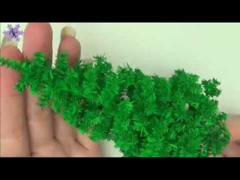 Miniature Christmas Tree, Ornaments, & Presents; Tutorial - YouTube