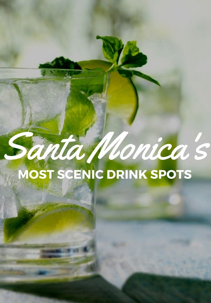 Santa Monica sprawls alongside one of California's prettiest stretches of coastline – up the ante on a night of sunset-scoping with drinks at one of these outdoor bars and restaurants.