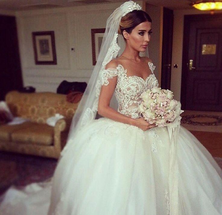 A turkish designer 39 wedding dress wedding pinterest for Turkish wedding dresses online