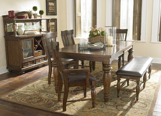 Dining Kitchen Furniture Woodbridge Leg Table
