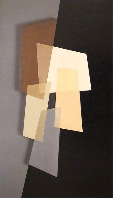 "Charles G. Shaw (), ""Plastic Polygon"", (1938) - Art Deco, Harlem Renaissance, De Stijl, Neue Sachlichkeit"