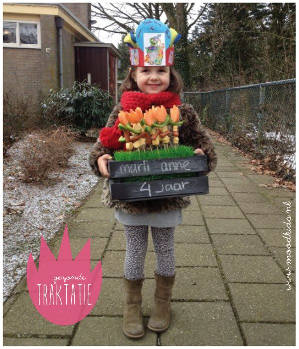 fun #food for kids gezonde traktatie voor op school - healthy treat for school
