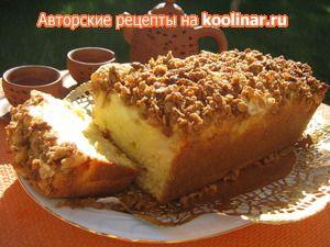 Яблочный кекс с хрустящей корочкой (Apple Crumble Cake), для Ирочки!