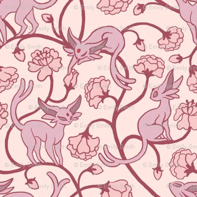 Pokemon fabric! I could make such a cute dress out of this if I could only find it online...