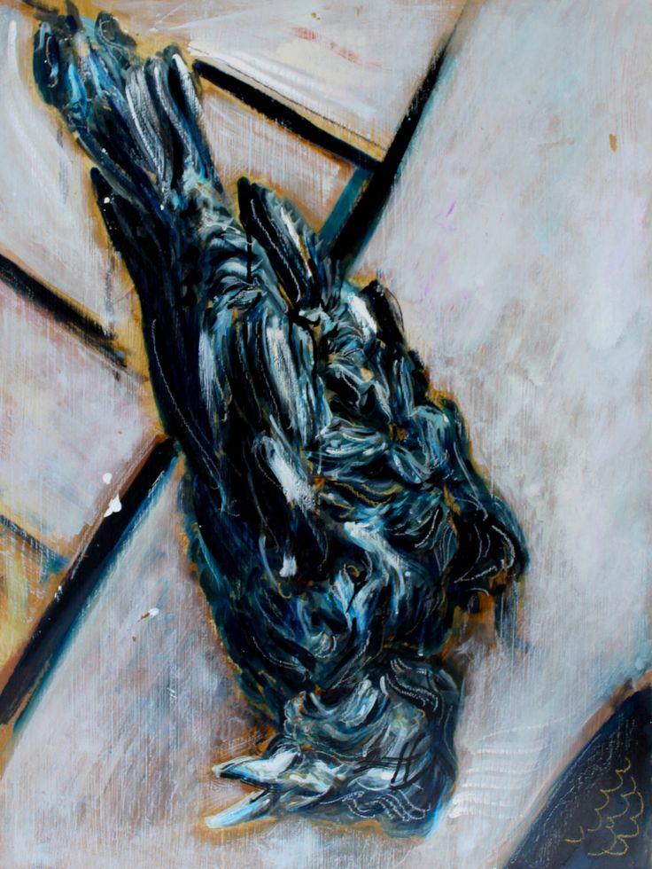 DeathBuy paintings atbluethumb.com.au/alexcarletti