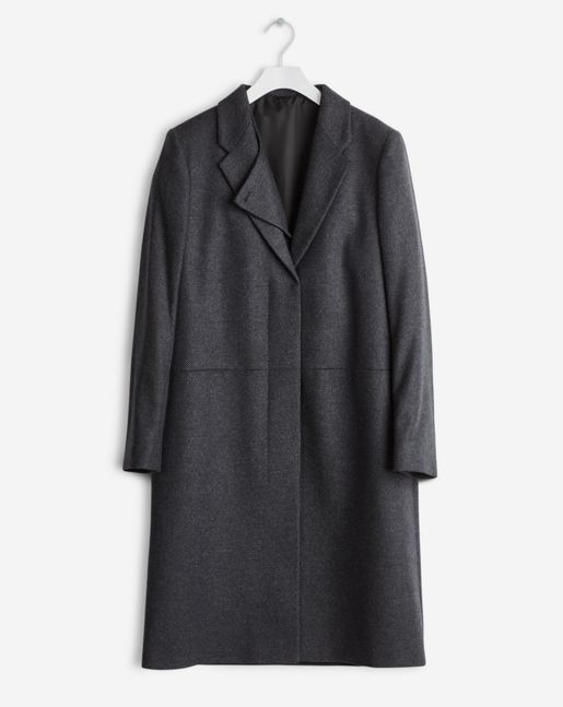 Front Runner Coat Antracite - Outerwear - Shop Woman - Filippa K