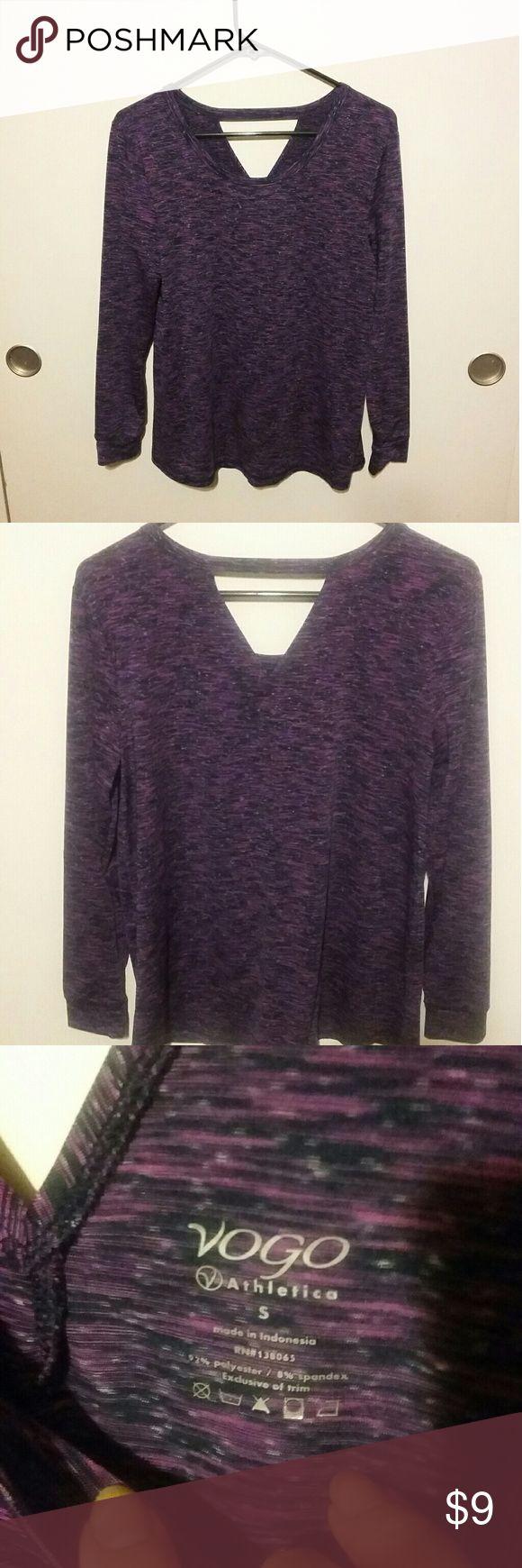 Vogo Athletica Purple Long Sleeve Top Vogo Athletica Purple Long Sleeve Top Vogo Athletica Tops Tees - Long Sleeve