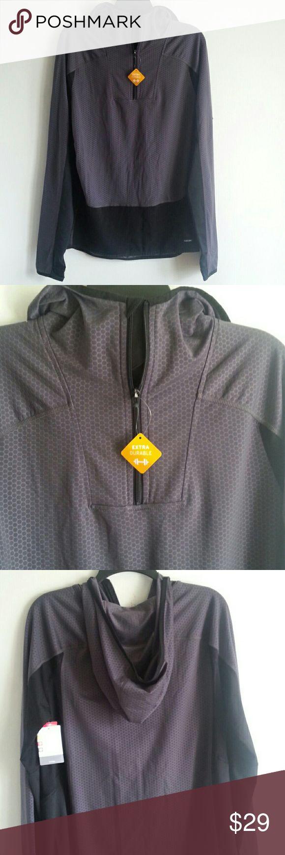 New Champion DUO DRY org$39.99 New Champion DUO DRY  GREY & BLACK  Size  M Champion Jackets & Coats Performance Jackets