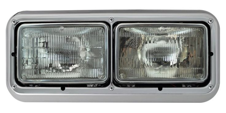 Sealed Beam Headlight Assembly Universal 165Mm, Driver Side