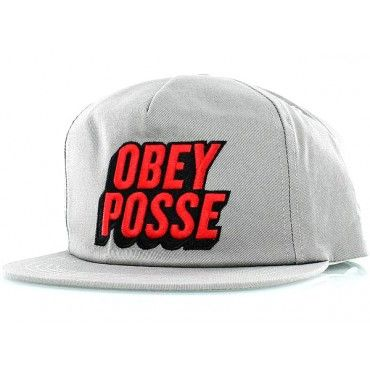 Posted Snapback from Obey now $34.95!