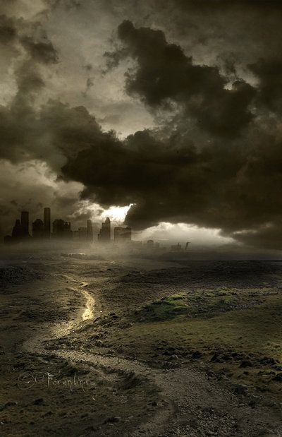 45 Stunning End of The World, Post Apocalypse Illustrations:
