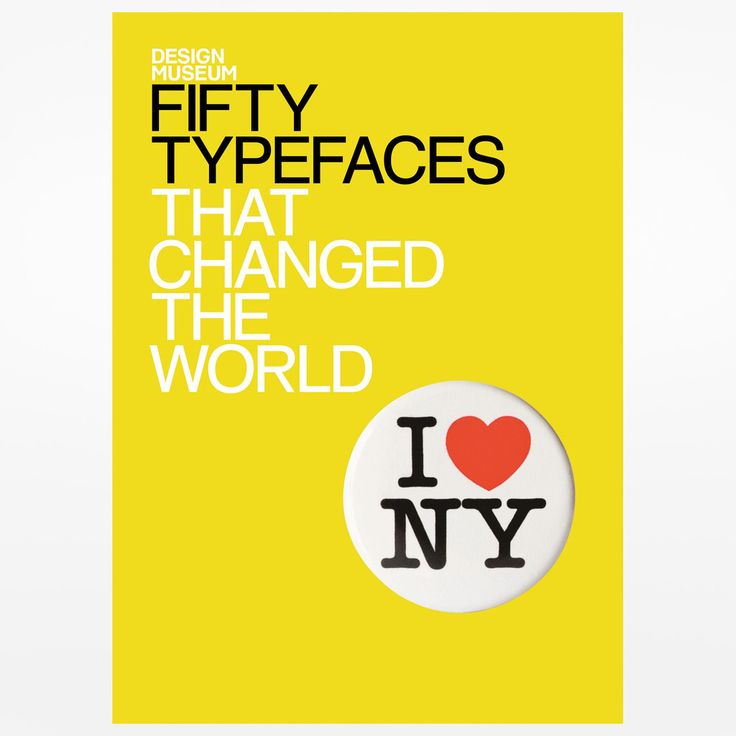 50 Typefaces That Changed The World