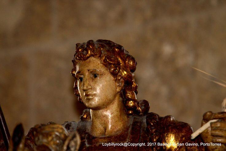 La statua equestre di San Gavino, Porto Torres