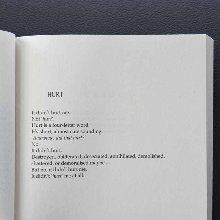 """Hurt"" – Ranata Suzuki | (From The Longest Night ISBN 9780646987408) available o…"
