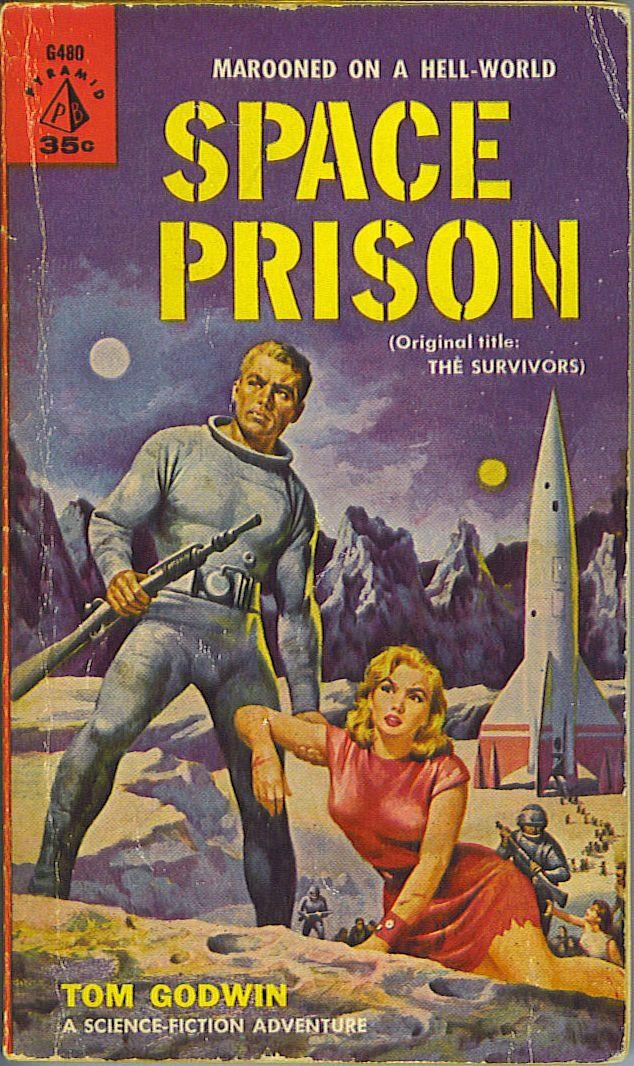 "Published in 1958  this book got a title change to ""Space Prison"" when the paperback was published in 1960"