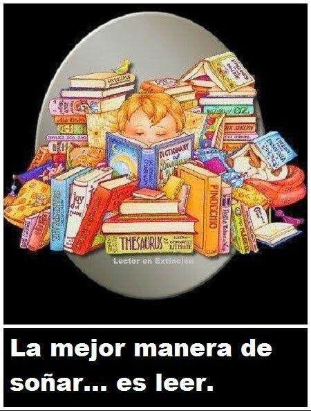 Amo leer.