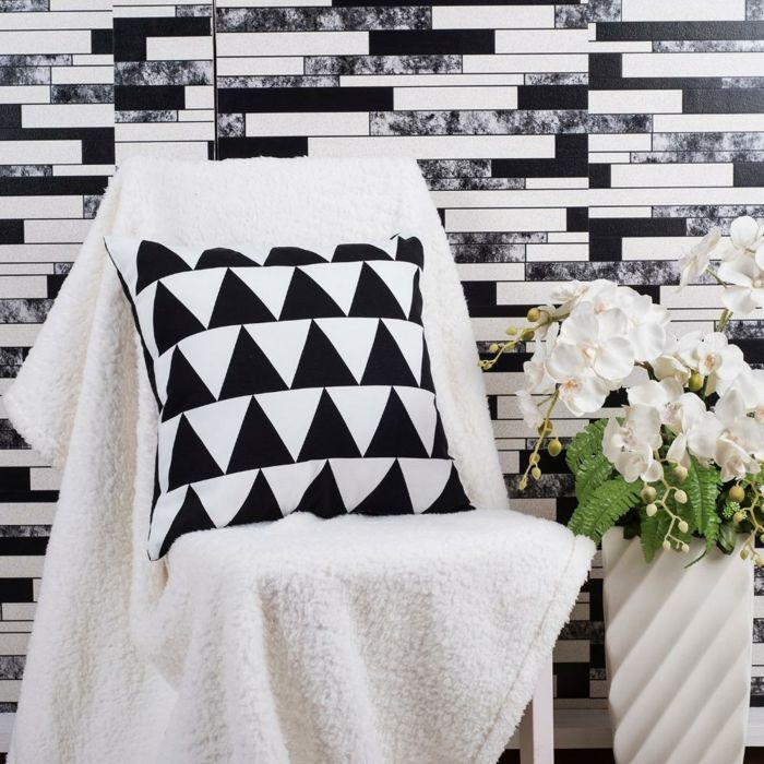 25+ best ideas about wohnzimmer einrichten on pinterest | teal ... - Wohnzimmer Wandgestaltung Schwarz Weis