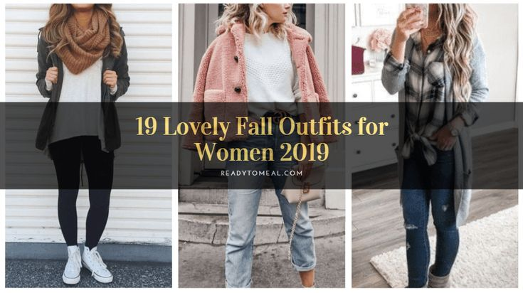 19 Lovely Fall Outfits for Women 2019 3