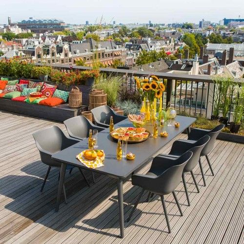 Die besten 25+ Gartenmöbel kunststoff Ideen auf Pinterest - gartenmobel set alu 7 teilig