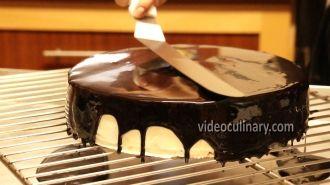 Step by step Chocolate mirror glaze