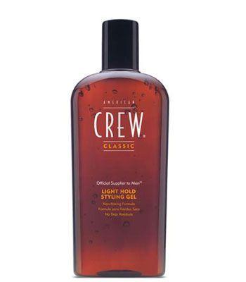 American Crew Light Hold Styling-Gel #American #Crew #haarproducten #haarverzorging #kappersbenodigdheden #barbershop #heren #man