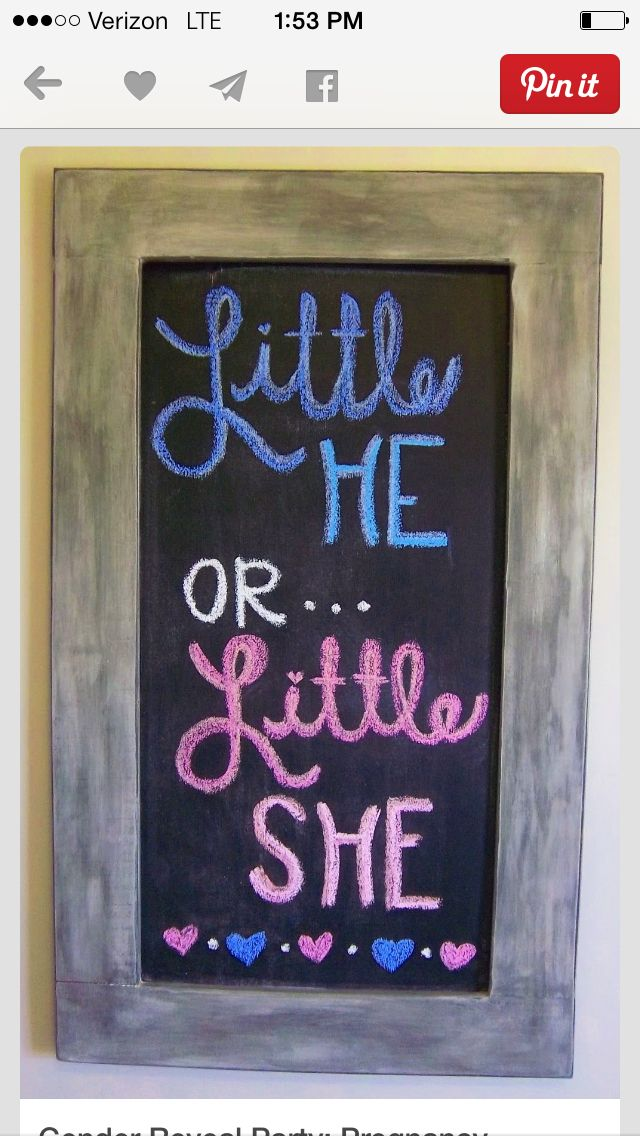 Cute for gender reveal party