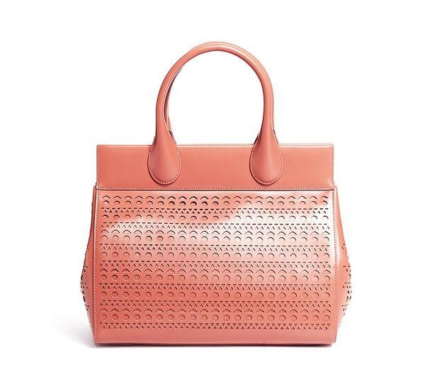 Clearance Sneakernews Ala?a Perforated Leather Bag Explore Sale Online flldsbRAF