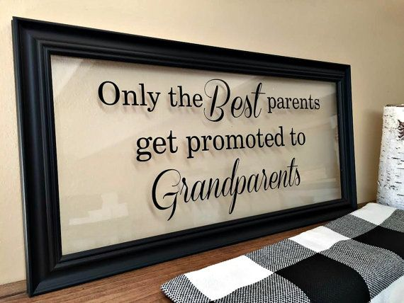 Grandparents Gift, Grandma, Grandfather Gift, Papa Gifts, Personalized Grandparent, Nana Gift, Gifts for Nana, Pregnancy Announcement, A119