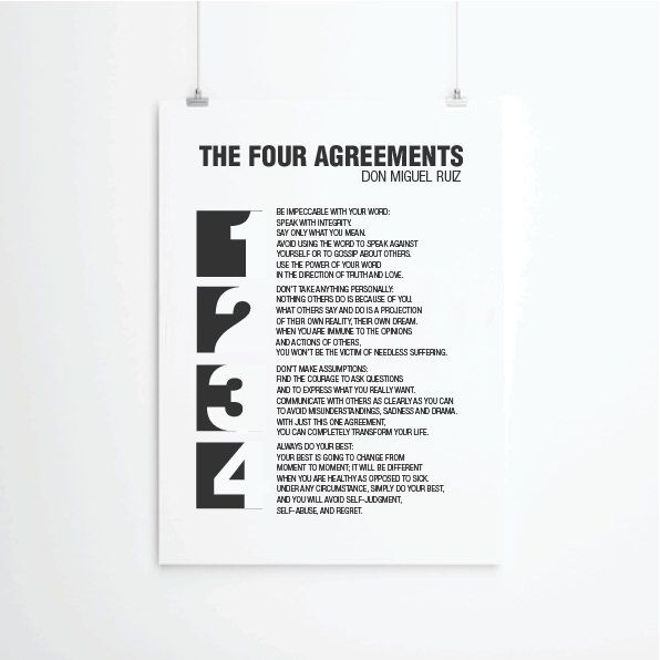 The Four Agreements Poster Pdf Fresh Meat Season 2 Free