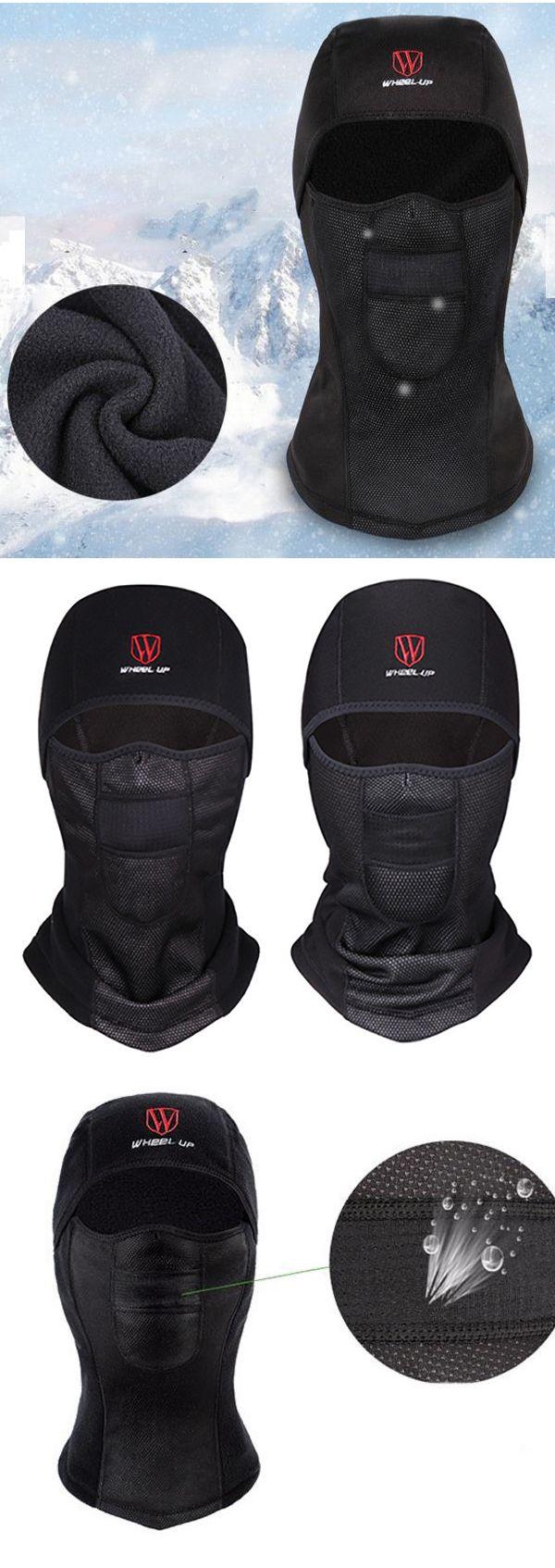 Winter Outfit: Warm Fleece Full Hood  Windproof Hat: Dustproof/Waterproof #men #winter