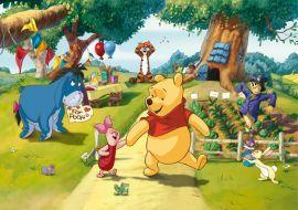 Fototapet Disney Winnie The Pooh si Piglet