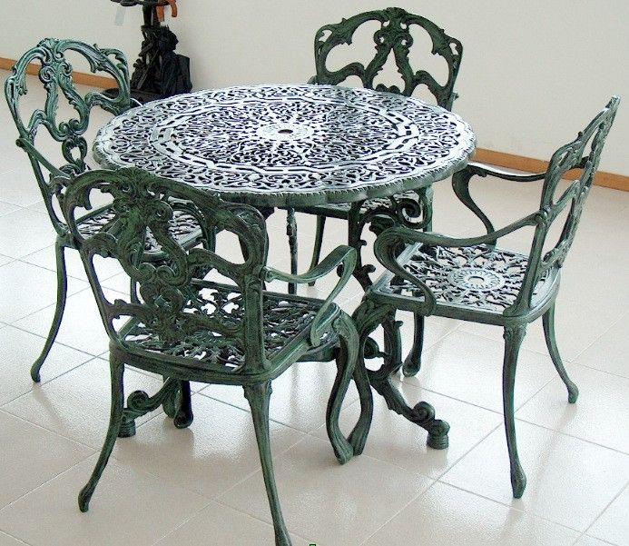 Bilderesultat for hierro colado muebles de jardin - Hierro y aluminio ...