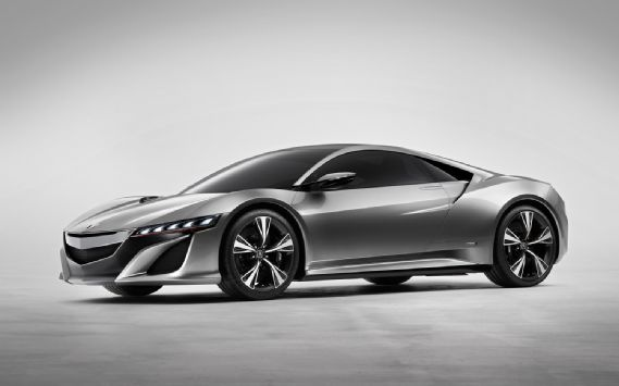 Acura Hybrid NSX concept... beautiful design... hate the way hybrid drives