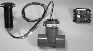 "The Badger Meter wireless 228PV flow sensors are designed to measure water flow in PVC pipes. These sensors consist of a removable, nonmagnetic sensor in a schedule 80 PVC tee with solvent-weld socket end connections. They are available in 1-1/2"" to 4"" sizes."