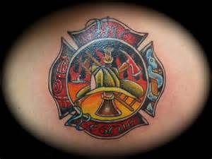 Image detail for -firefighter tattoos maltese cross image search results
