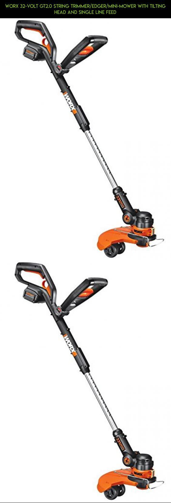 WORX 32-Volt GT2.0 String Trimmer/Edger/Mini-Mower with Tilting Head and Single Line Feed #cordless #fpv #gadgets #racing #trimmers #technology #shopping #kit #products #drone #lawn #plans #parts #tech #camera
