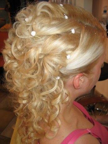 Výsledek obrázku pro Spolocenske ucesy pre dlhe vlasy