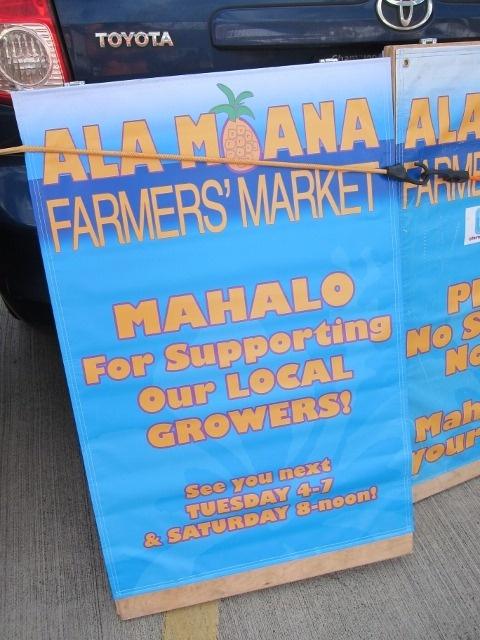 Ala Moana Farmers' Market Oahu