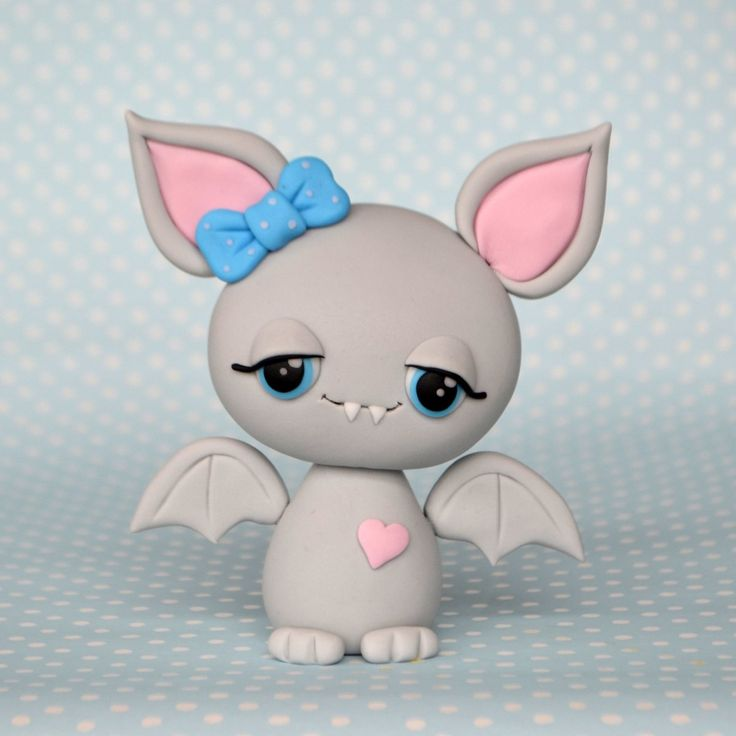 DIY Cute Bat Polymer Clay Step-by-Step Tutorial