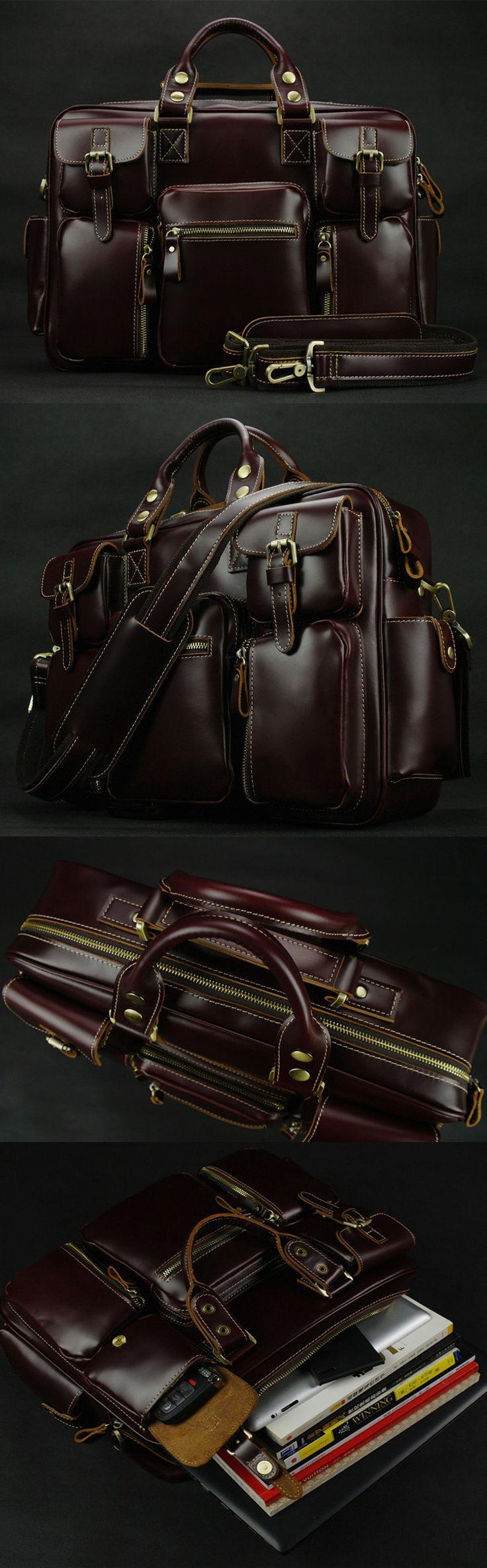 25 Best Ideas About Leather Bag Men On Pinterest