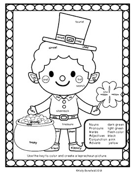 St. Patricks Day Fun Language Arts Packet.  Easy to use and fun printables!  $: Fun Language, Language Arts