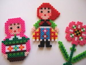 Perler beads....This website has a bunch of ideas of what to do with them.
